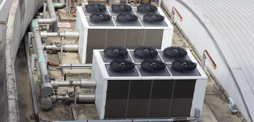 sistema de ar condicionado industria