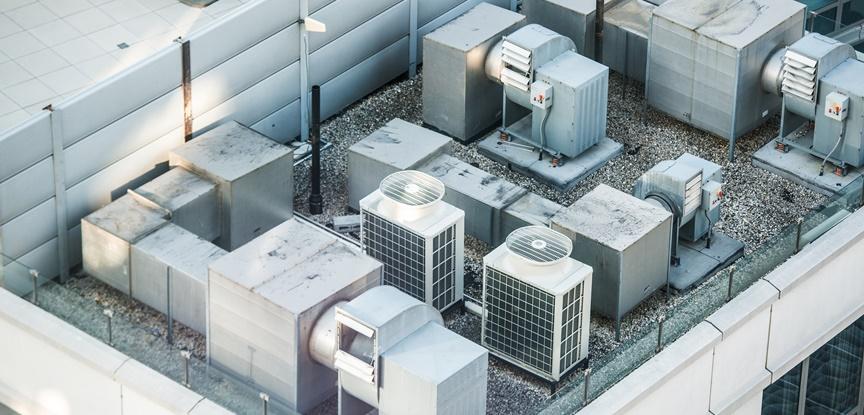 ar condicionado central industrial
