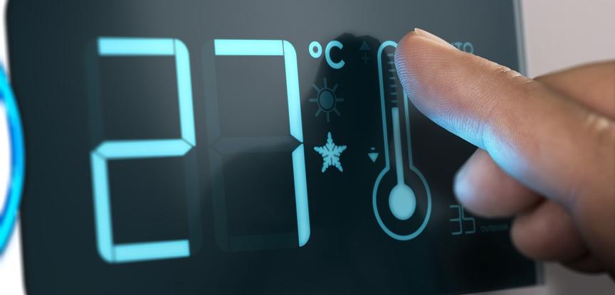 temperatura do ar condicionado de precisão