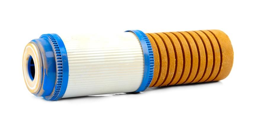 foto de filtro de polipropileno