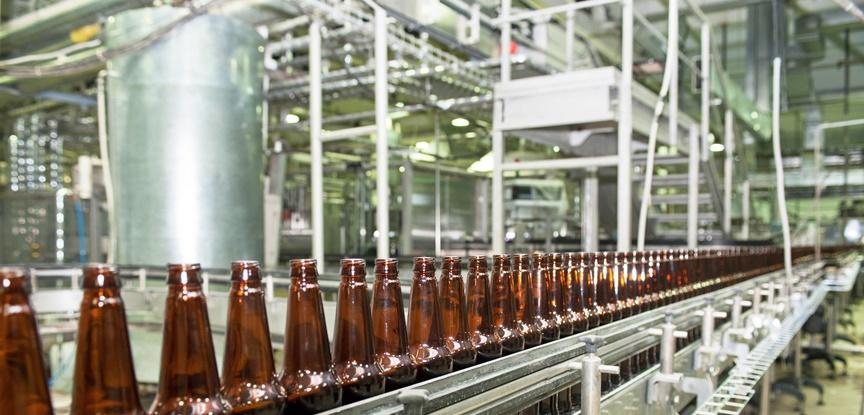 foto de indústria de bebida