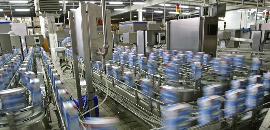 foto de industria alimentícia