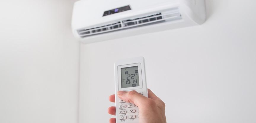 ar condicionado ligado